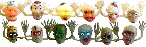 Finger -Monster, 12 verschiedene ,