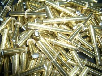 Röllchenlose Farbe GOLD, NIETEN, 100er Beutel