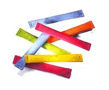 Sicherheitslose GRÖSSE 2, Papier-Farbe BUNT GEMISCHT in 5 verschiedenen Farben, TREFFER NR. 2001 - 3