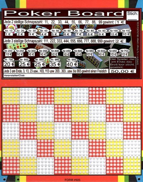 Knobel-Stechspiel 1000 mit Spielplan Nr. 36