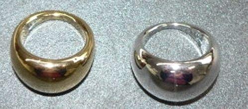 Gold- und Silberringe