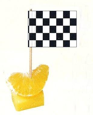 Minifahnen Zielflagge