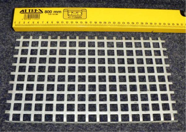 Schutzgitter für 2-Schachtgehäuse