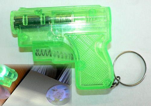 Projektor Light Gun am Schlüsselring,