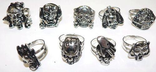 Heavy Skull Ringe