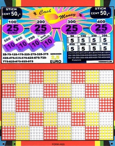 Knobel-Stechspiel 1000 mit Spielplan Nr. 12