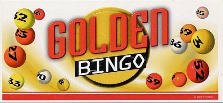 "Fensteraufreißkarten BINGO DIREKT ""Golden Bingo"""