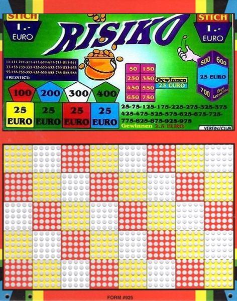 Knobel-Stechspiel 1000 mit Spielplan Nr. 28