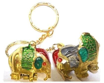 Elefant am Schlüsselring