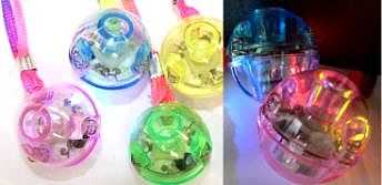 LED-Leuchtball mit 3 LED.Lämpchen