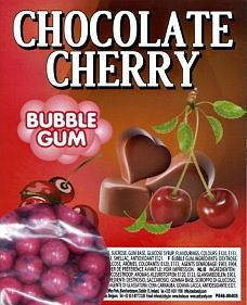 Dubble Bubble Cherry , 26 mm Kaugummi