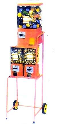 Wagen, GEBRAUCHT, bestückt mit 1 Goliath-Automaten gebraucht + 2 Standardautomaten gebraucht oder 4