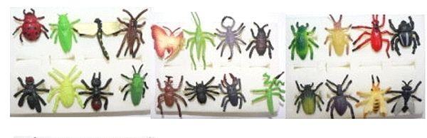 Insekten - Ringe, 24 verschiedene Ausführungen