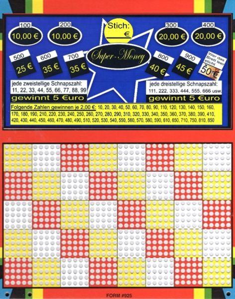 Knobel-Stechspiel 1000 mit Spielplan Nr. 31