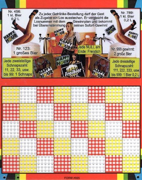 Knobel-Stechspiel 1000 mit Spielplan Nr. 33