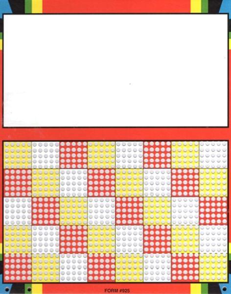 Knobel-Stechspiel 1000 - kein Spielplan