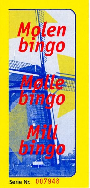"Fensteraufreißkarte BINGO DIREKT ""Mill Bingo"""