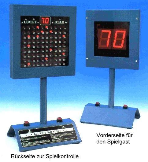 Tisch-Bingo-Gerät LUCKY STAR