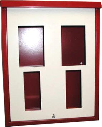 2-Schachtgehäuse für Standardautomaten inkl. Frontplatte