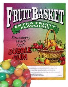 Big Smoothie Fruit Basket , 24 mm Kaugummi, AZO FREE