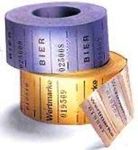 Gutscheine - 500 Abrisse, kleines Format