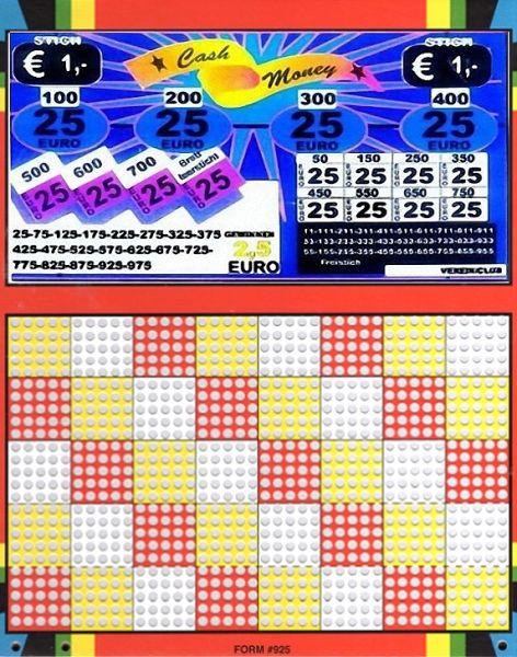 Knobel-Stechspiel 1000 mit Spielplan Nr. 11