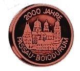 Medaillen DIE 2000 JAHRE ALTEN STÄDTE UND ORTE DEUTSCHLANDS 2.Serie mit SILBERAUFLAGE