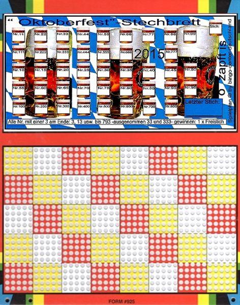 Knobel-Stechspiel 1000 mit Spielplan Nr. 43