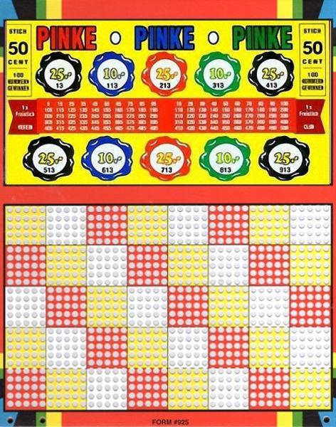 Knobel-Stechspiel 1000 mit Spielplan Nr. 16
