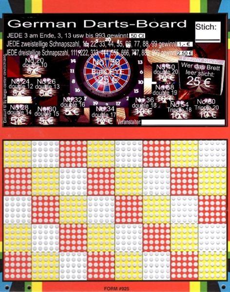 Knobel-Stechspiel 1000 mit Spielplan Nr. 49A