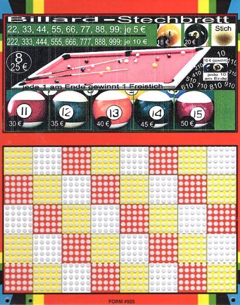 Knobel-Stechspiel 1000 mit Spielplan Nr. 41
