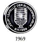 Medaillen 40 JAHRE BUNDESREPUBLIK DEUTSCHLAND 2.Serie