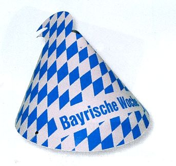 """Hütchen """"Bayrische Woche"""""""