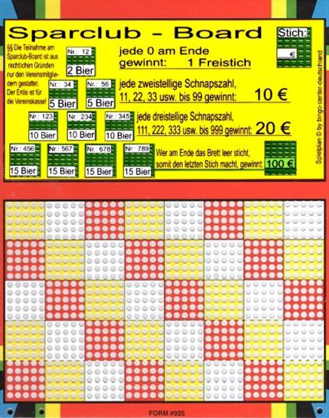 Knobel-Stechspiel 1000 mit Spielplan Nr. 47