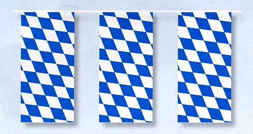 """Fahnenketten """"Bayern"""""""
