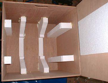 Transportbox für Lostrommel Art. 90/57 ( 8-eckig)