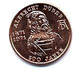 Medaillen ALBRECHT DÜRER 500 Jahre SERIE