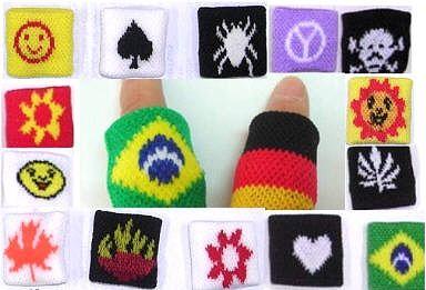 Finger - Bänder, 15 verschiedene ,
