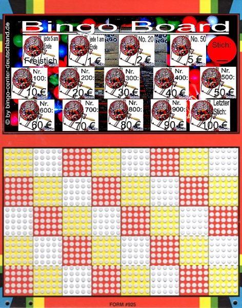 Knobel-Stechspiel 1000 mit Spielplan Nr. 42