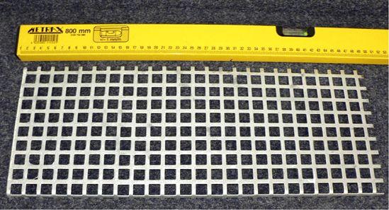 Schutzgitter für 3-Schachtgehäuse