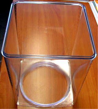 "Glas, Material Polycarbonat ""Makalon"","