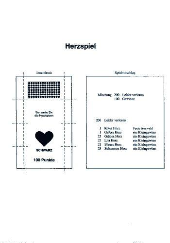 Herzspiel - Brieflos