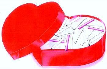 HAPPY-WEEKEND_HEART, mit 52 liebe Übrraschungen für die Partnerin oder den Partner