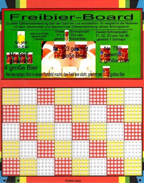 Knobel-Stechspiel 1000 mit Spielplan Nr. 33C