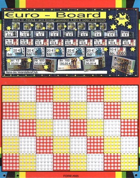 Knobel-Stechspiel 1000 mit Spielplan Nr. 32