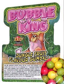 Bucky Bubble Gum assorted AZO FREE 26mm-Kaugummi