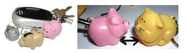 Magnetic Animal small, Schlüssel -und Handyanhänger mit Magnetkern