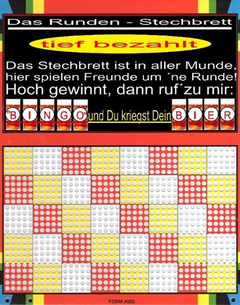Knobel-Stechspiel 1000 mit Spielplan Nr. 46