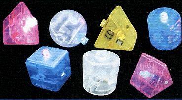 LED - Bausteine zum Zusammenstecken mit Farbwechsel