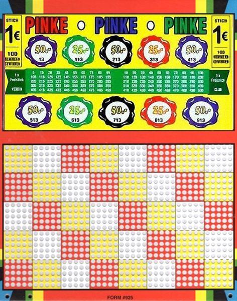 Knobel-Stechspiel 1000 mit Spielplan Nr. 15